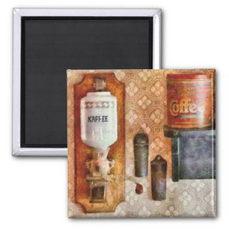 Chef - Let's have some Kaffee 2 Inch Square Magnet