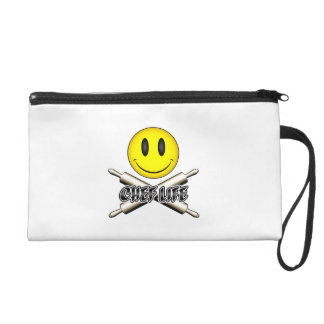 Chef Life: Baker Smiley Wristlet Purse