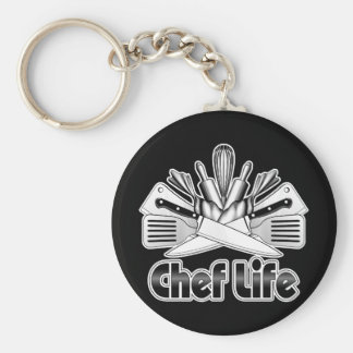 Chef Life: Kitchen Utensils Keychain