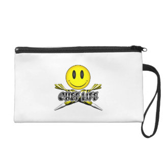 Chef Life: Pastry Smiley Wristlet
