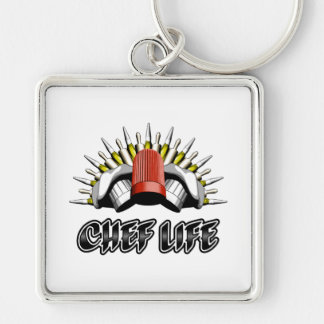 Chef Life: Pastry Style Keychain