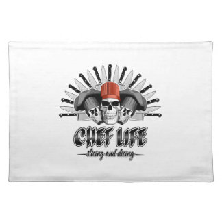 Chef Life: Slicing and Dicing Placemat