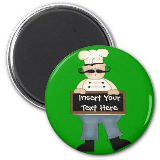 Chef 2 Inch Round Magnet
