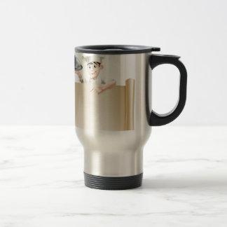 Chef Menu Banner Coffee Mug