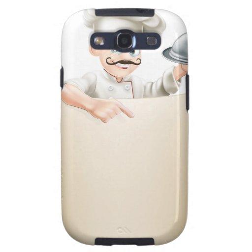 Chef Menu Scroll Galaxy S3 Covers