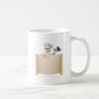 Chef Menu Scroll Coffee Mug