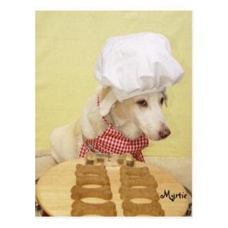 Chef Myrtie Postcard