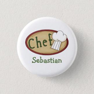 Chef Name ID V2 Pinback Button