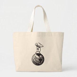 Chef of the World Large Tote Bag