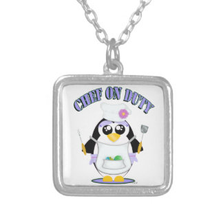 Chef on Duty Penguin Female Jewelry