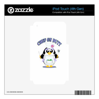 Chef on Duty Penguin Female Skin For iPod Touch 4G