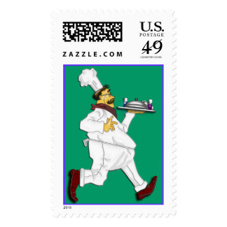 Chef on the run II Stamps