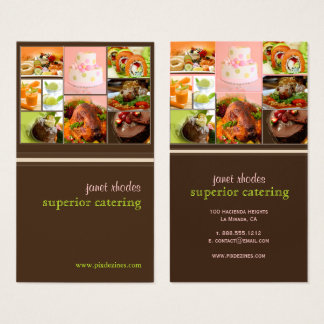 Chef or Catering business cards