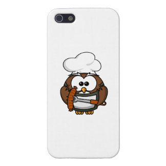 Chef Owl Ready To Barbeque Cover For iPhone SE/5/5s