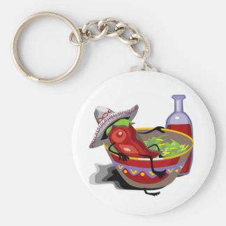 Chef Pepper Keychain