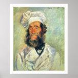 Chef Père Paul by Claude Monet Poster