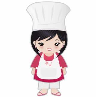 Chef Acrylic Cut Outs
