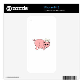 Chef Pig Skin For The iPhone 4