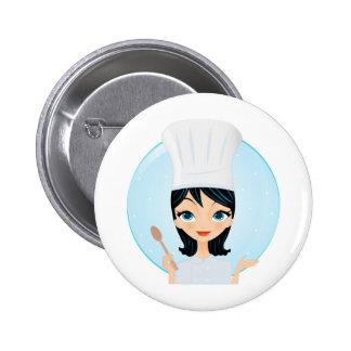 Chef Pinback Button