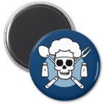 Chef Pirate Fridge Magnets