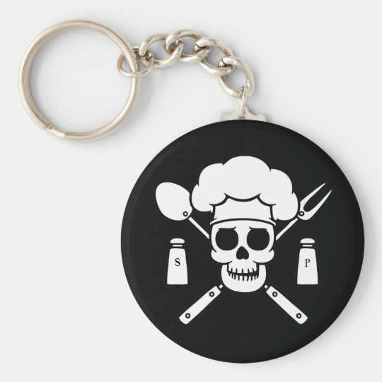 Chef Pirate Keychain