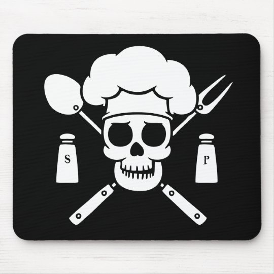 Chef Pirate Mouse Pad