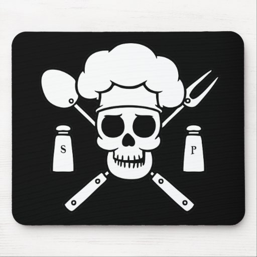 Chef Pirate Mousepads