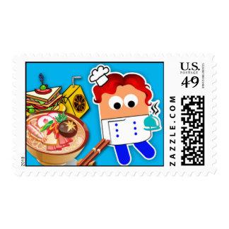 Chef Postage Stamp