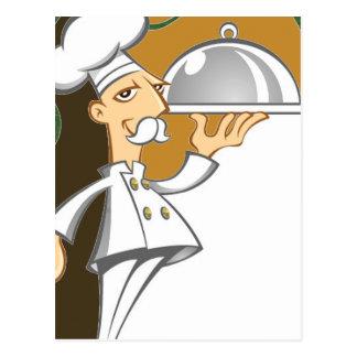 Chef Postcard