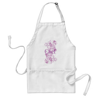 Chef (Pretty Swirl) Womans Apron