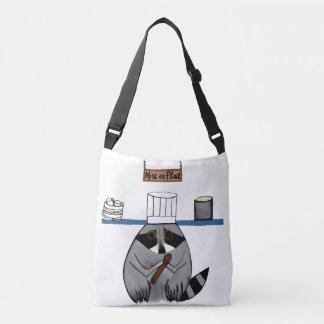 Chef Raccoon on Shoulder Bag