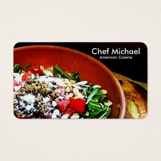 (Chef / Restaurant / Catering) Business Cards