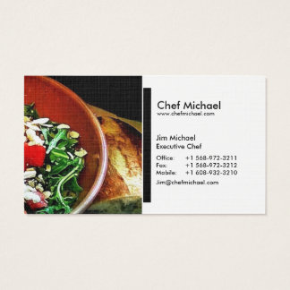 (Chef / Restaurant / Catering) Business Cards (b)