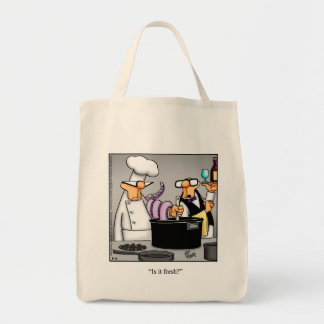 Chef/Restaurant Humor Tote Bag Gift