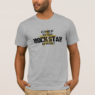 Chef Rock Star by Night T-Shirt