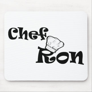 Chef Ron Mouse Pad