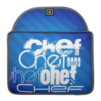 Chef; Royal Blue Stripes Sleeve For MacBooks
