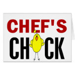 Chef's Chick Card