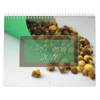 chef s secret ingredients calendar 2010