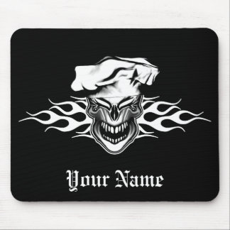 Chef Skull 10 Mouse Pad