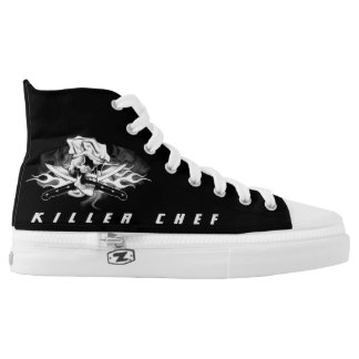 Chef Skull 1.0: Killer Chef High-Top Sneakers