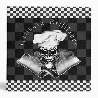 Chef Skull 1 Binders