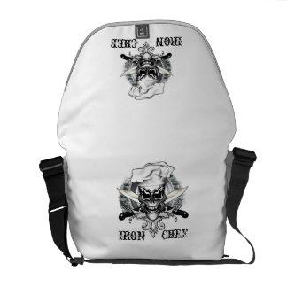 Chef Skull 1: Iron Chef Messenger Bags