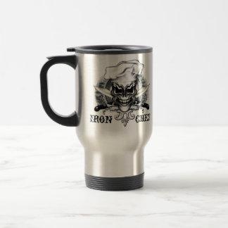 Chef Skull 1 15 Oz Stainless Steel Travel Mug