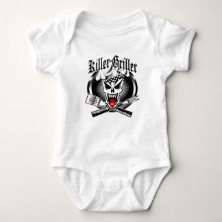 Chef Skull 2.1 Baby Bodysuit