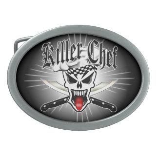 Chef Skull 2.1 Belt Buckle