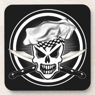 Chef Skull 2 Beverage Coaster