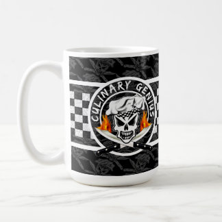 Chef Skull 2 Coffee Mug