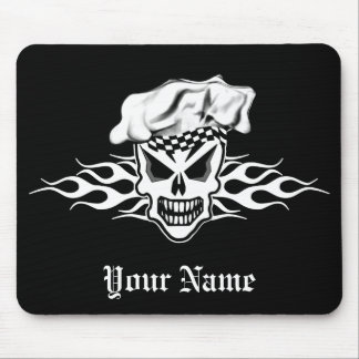 Chef Skull 2 Mouse Pad