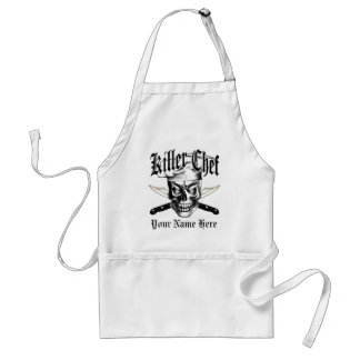 Chef Skull 3.1 Adult Apron